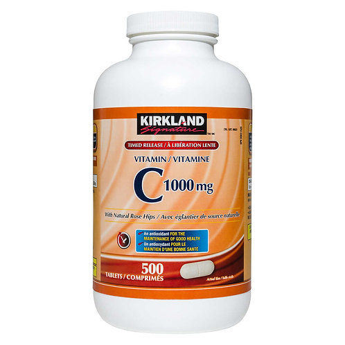 Kirkland Signature Timed Release長效維他命C 1000mg(500粒)