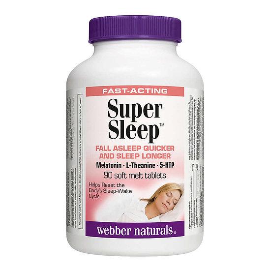"""Webber Naturals """"Super Sleep"""" 超級睡眠配方(90粒)"""