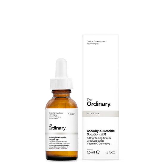 THE ORDINARY 12%維他命C衍生物(抗壞血酸葡糖苷)亮白精華 30ML