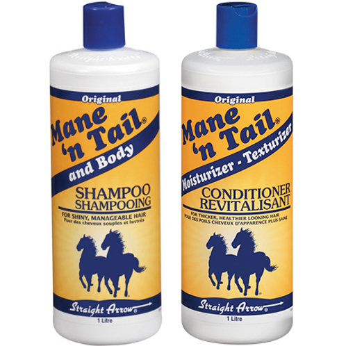 Mane 'n Tail 經典配方洗髮露+護髮露套裝(1L特大裝 x 2)