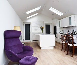 Raheny kitchen/dining room area