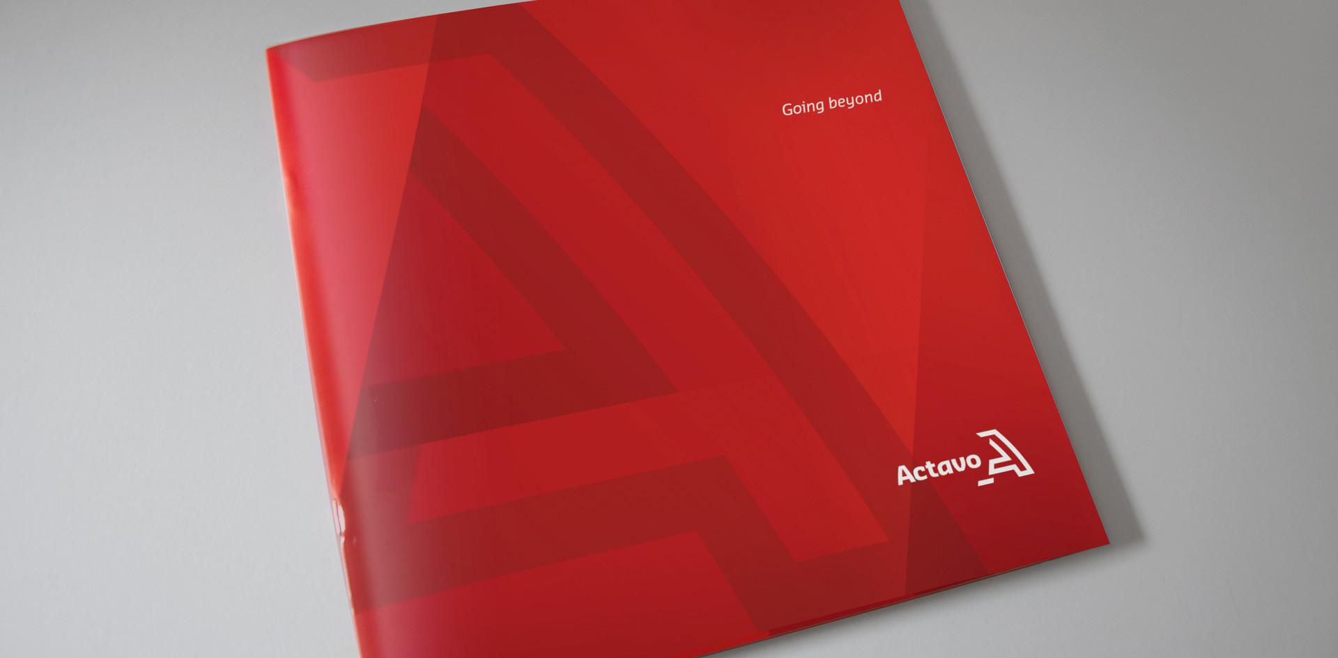 Actavo Sky Presentation Square Brochure