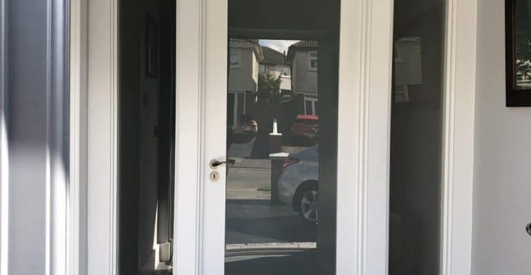 Elm Mount door