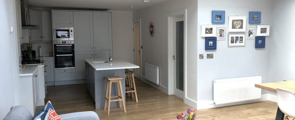 Elm Mount kitchen and dining room