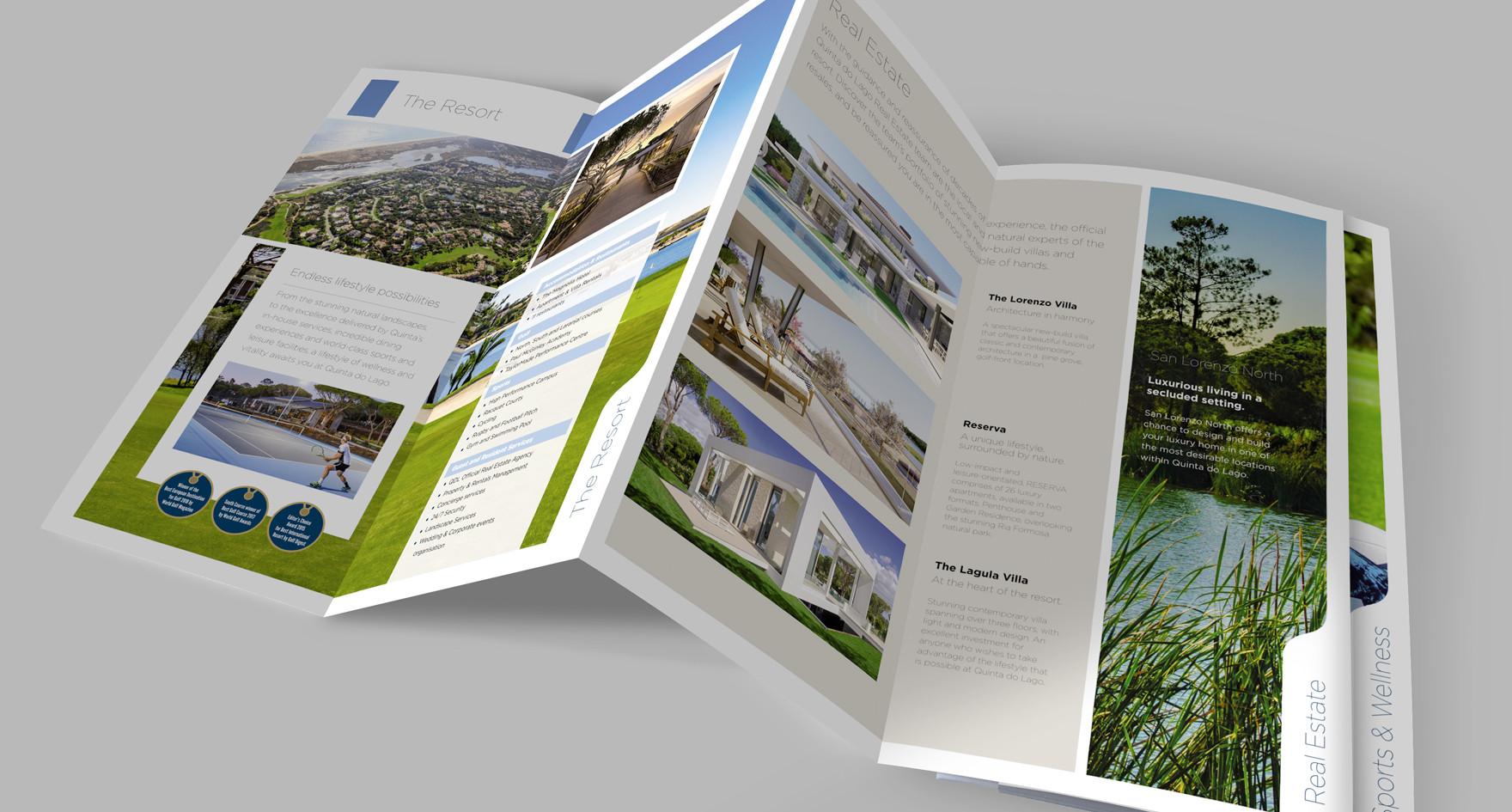QDL Resort concertina Brochure opened V2
