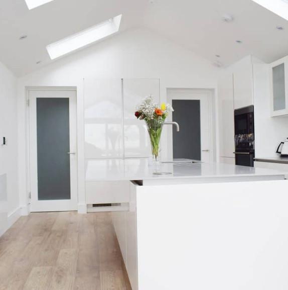 Raheny kitchen area