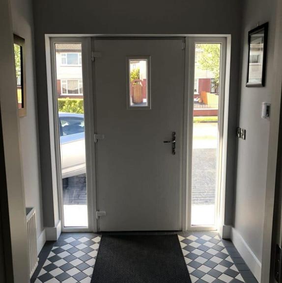 Elm Mount door interior