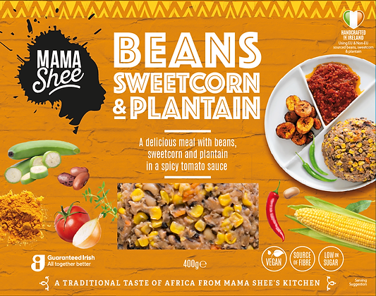 Beans, Sweetcorn and Plantain