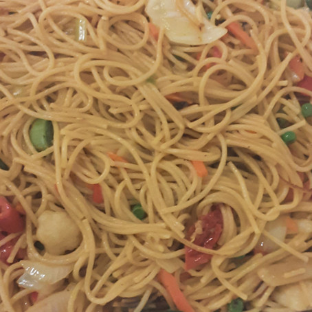 SPAGHETTI AND VEGETABLE MIX