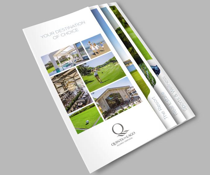 QDL Resort concertina Brochure front LHS