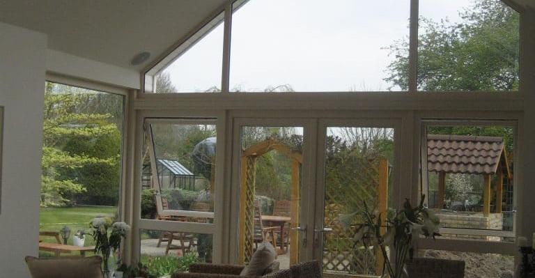 Athlone living room garden view