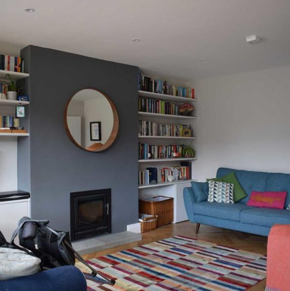 Drumcondra living room