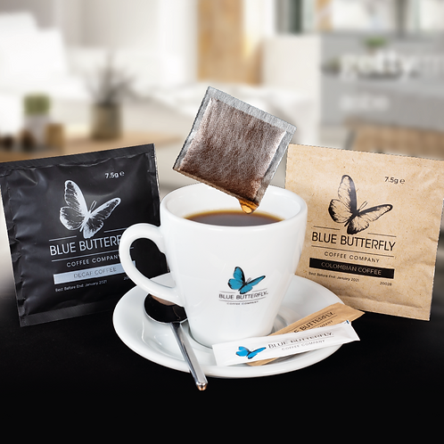 Coffee Bags - Fresh Coffee in 3 minutes