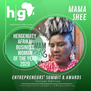HERGENUITY AFRIKA! BUSINESS WOMAN OF THE YEAR 2020