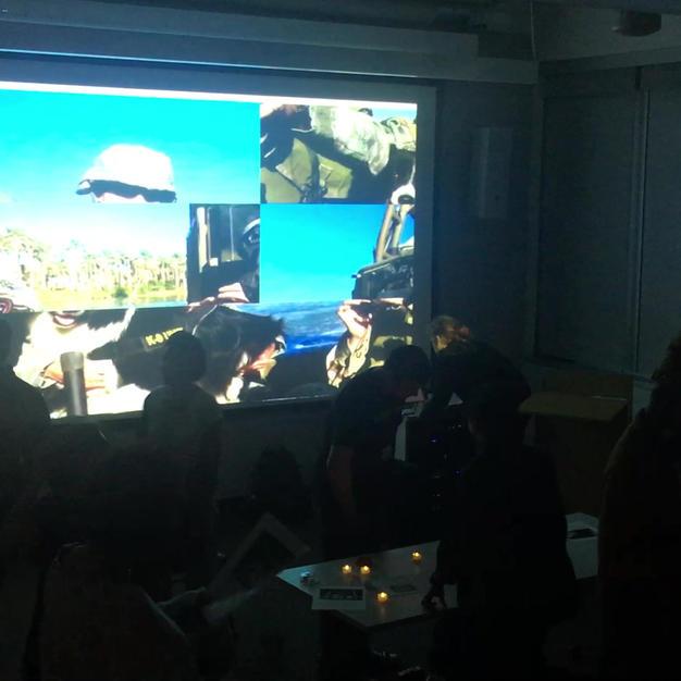 Installation video clip