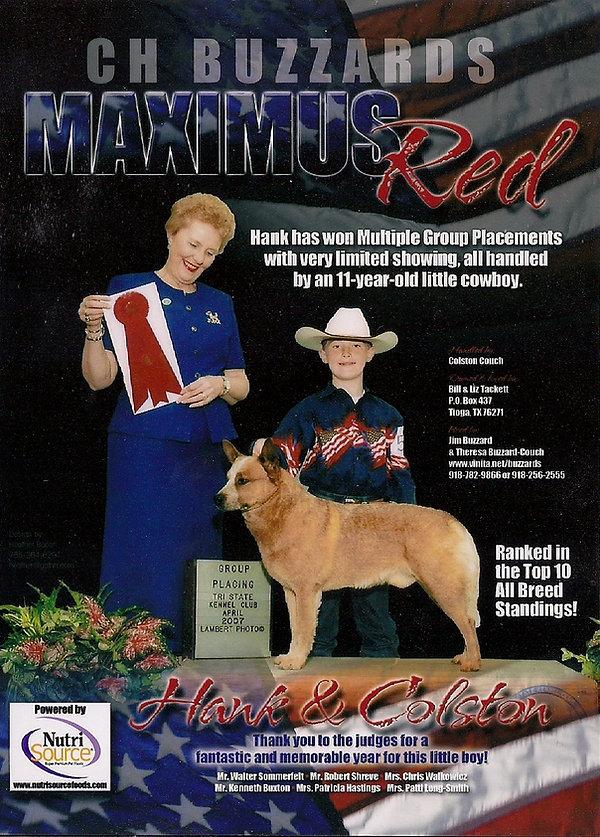 Maximus Red Ad