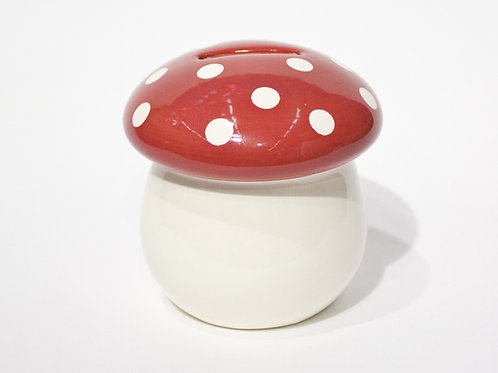 Tirelire champignon