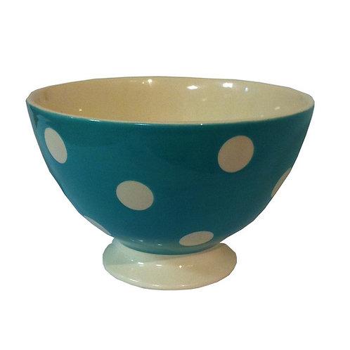 Bol talon POIS turquoise 14,5 cm