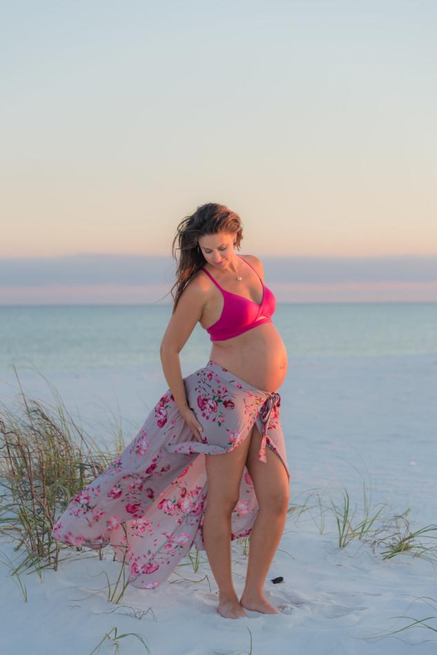 Gulf Islands National Seashore Maternity Shoot