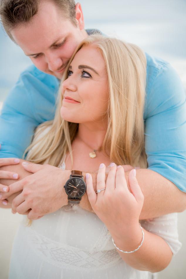 Pensacola Beach Florida Photographer.  Engagement Photography.