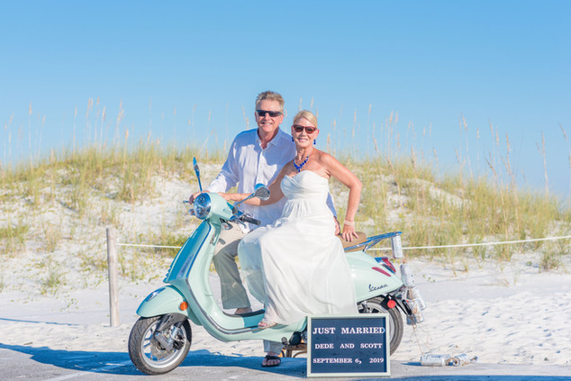 Destination Beach Elopement Pensacola Beach Wedding Photographer