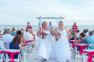 Navarre Beach Same Sex Wedding Photographer