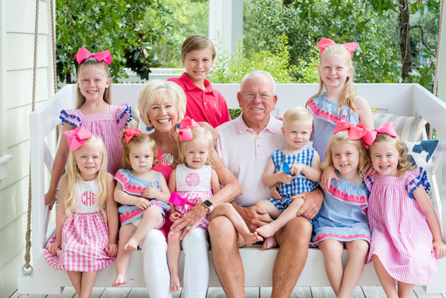 Family Photography Session at Watercolor Florida on 30A