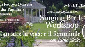 [it] Singing Birth Workshop con le farfalle