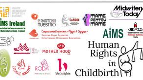 [it] Le voci delle madri alla conferenza sui diritti umani nella nascita a Strasburgo