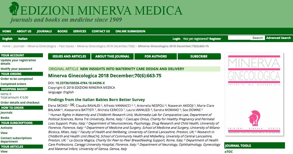 Minerva Ginecologica B3