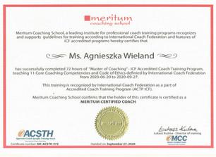 Meritum Certified Coach