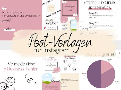 30 Instagram-Vorlagen für Selbstständige