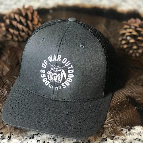 Richardson Trucker Cap - Charcoal/Black