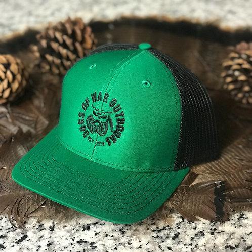 Richardson Trucker Cap - Kelly/Black