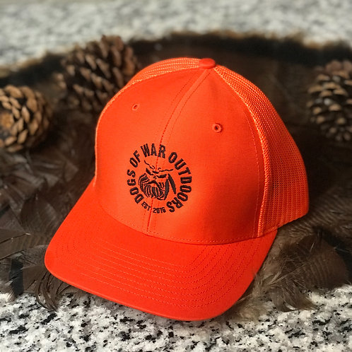 Richardson Trucker Cap - Solid Orange
