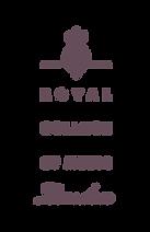 Royal  College of music london logo purp