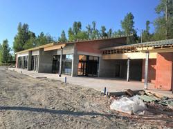 Construction d'un restaurant
