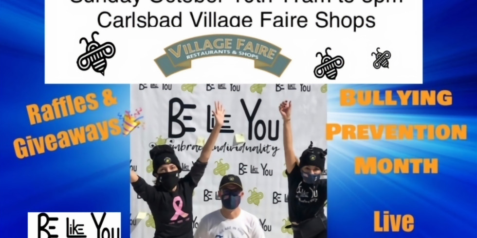 """Carlsbad Village Faire Bee Thoughtful """"Wall"""" 2nd Annual"""