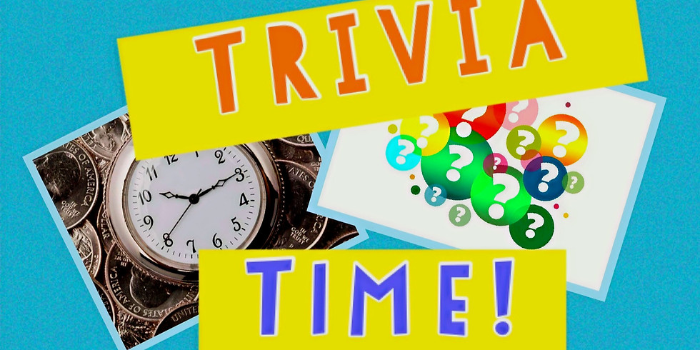 ONLINE Trivia Game Day Sunday Oct. 11th