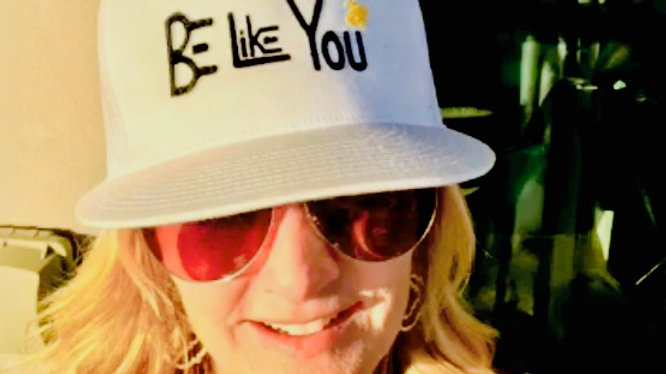 Be Like You White Trucker Hat