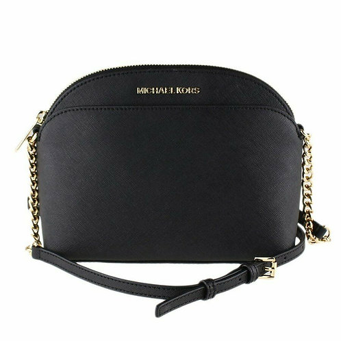 Michael Kors JetSet Travel Medium Dome Crossbody Black