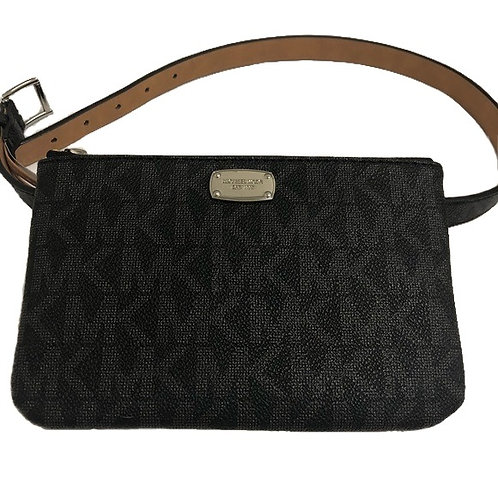 Michael Kors Belt Bag Signature Black