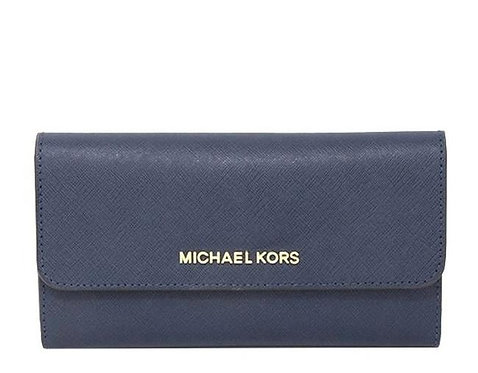 Michael Kors Jet Set LG Trifold Wallet Chambry