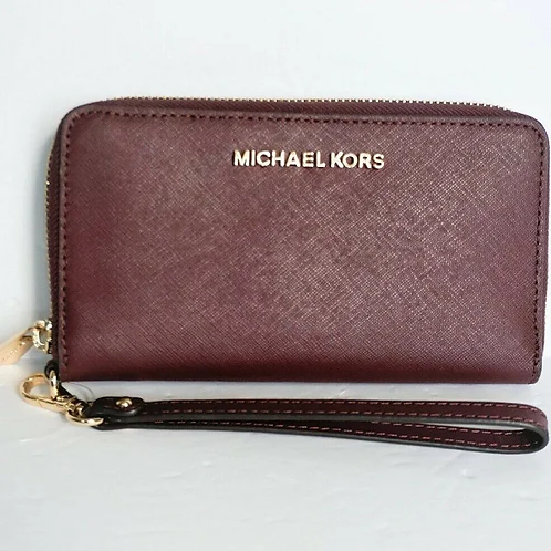 Michael Kors Jet Set Travel Large Flat Multi-function Phone Case