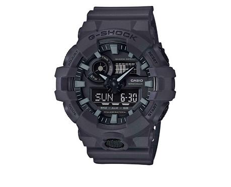 Men's Casio G-Shock Analog-Digital Black Resin Strap Watch