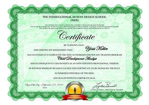 Yossi Kotler CDAT Certificate.jpg