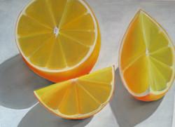 Large Orange Still Life