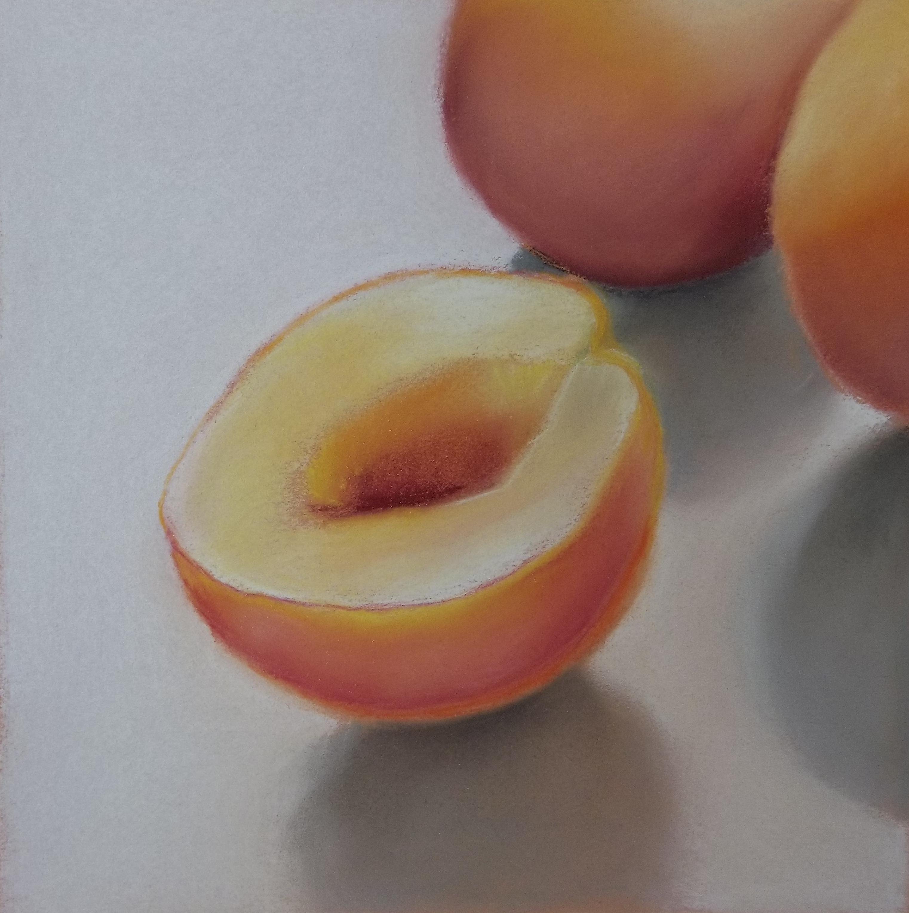 Half of a Peach