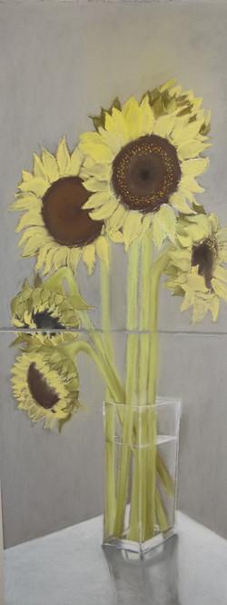 Sunflower Diptych
