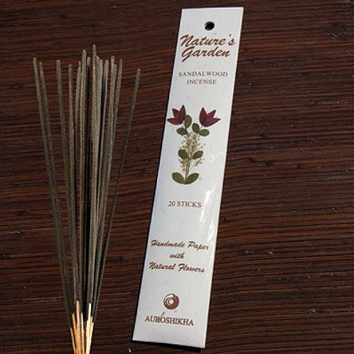 Natures Garden Incense Sticks - Sandalwood